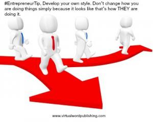 facebook - entrepreneur tip - don't change your style - 5-5-2014